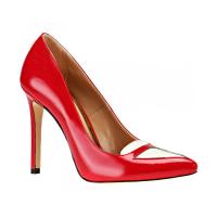 Tracy Co 3319R Z Kırmızı Beyaz Kadın Deri Ayakkabı