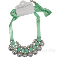 Şıklığnızın Tamamlayıcısı Fashion Jewelry İnci ve Taş Karışımı Gösterişli Kolye 65 TL Yerine 2890 TL